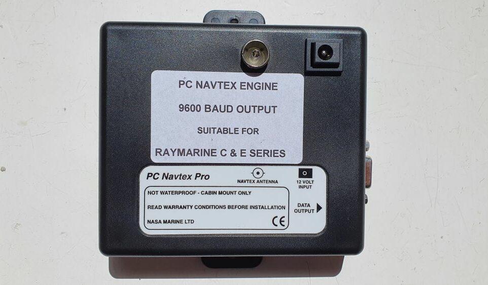 Nasa Navtex PC Raymarine C & E series